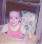 Me as a 1-year-old