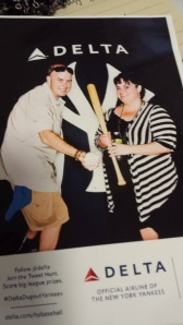 Me and Clark at a baseball promotion in Grand Central Station. He loved the Yankees, God love him! :)